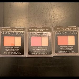 New Mary Kay Mineral Cheek Color Duo LOT